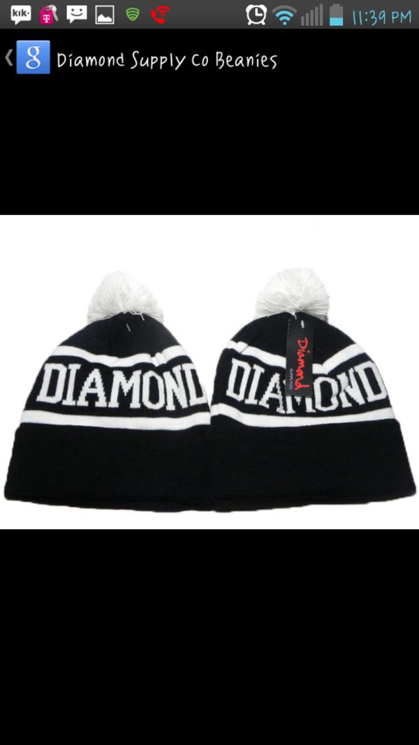diamond supply co. beanie