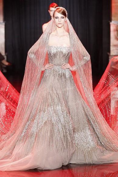 clothes wedding dress grand dress champagne dress