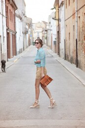 my daily style,shirt,shorts,shoes,bag,suede shorts