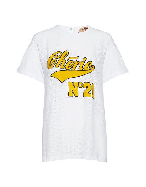 No.21 t-shirt shirt t-shirt white top