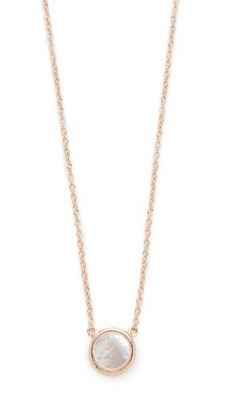 chain necklace rose gold rose necklace gold jewels