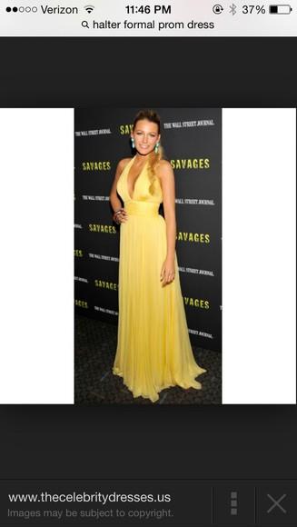 dress yellow blake lively