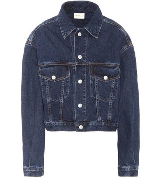Simon Miller Toluca denim jacket in blue