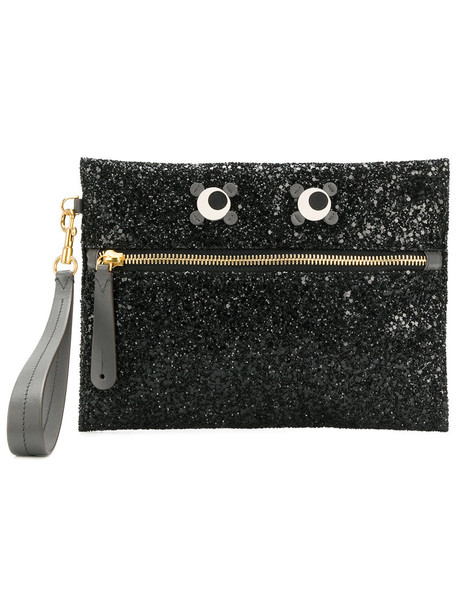 Anya Hindmarch eyes women pouch black bag