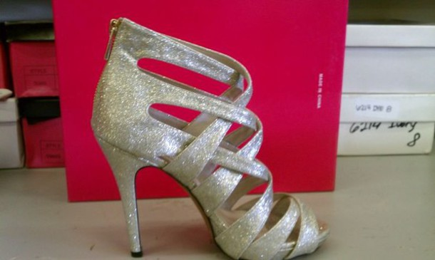 shoes heels glitter shoes