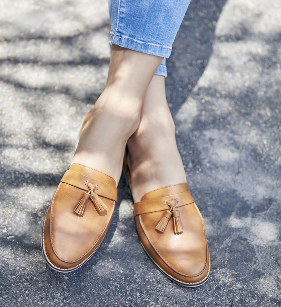 shoes sole society loafers leather sandals leather flats womens loafers  summer flats tassel