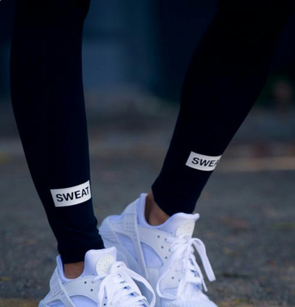 leggings sweat leggings black