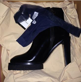 shoes platform shoes ankle boots platform ankle boots leather boots