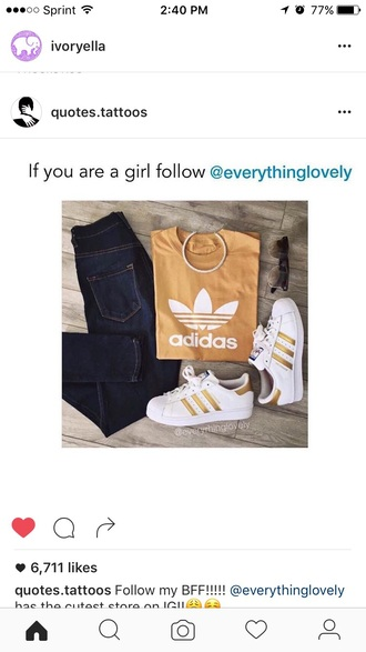 shoes adidas adidas superstars sneakers outfit gold