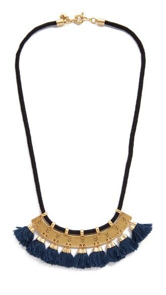 vintage tassel statement necklace statement necklace gold jewels