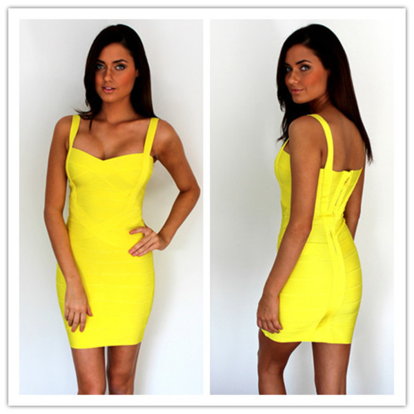dress club dress women bandage dress 2014 women hot party dress 2014
