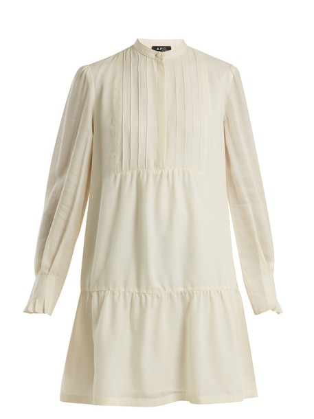 A.P.C. dress long cream