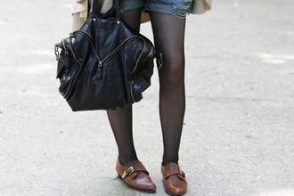 shoes black bag bag
