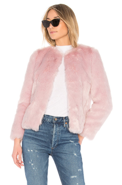 EAVES coat pink