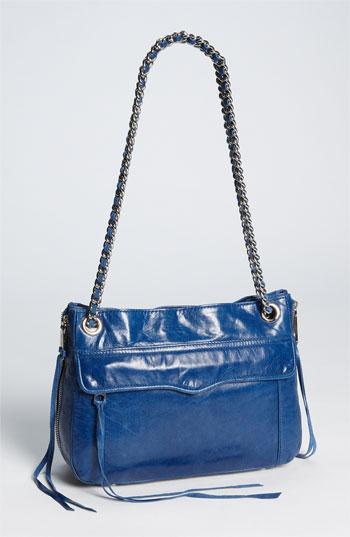 248e59bdb4d2 Rebecca Minkoff  Swing  Double Chain Leather Shoulder Bag ...