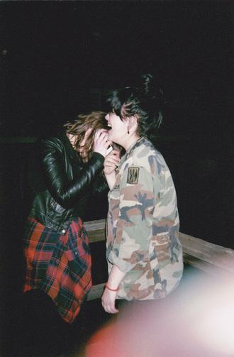 jacket camouflage camo jacket millitary grunge