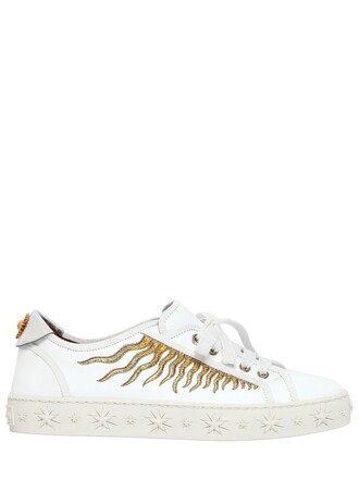 sun sneakers leather white shoes