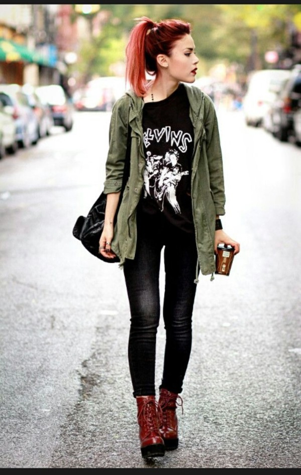 Green Trench Jacket