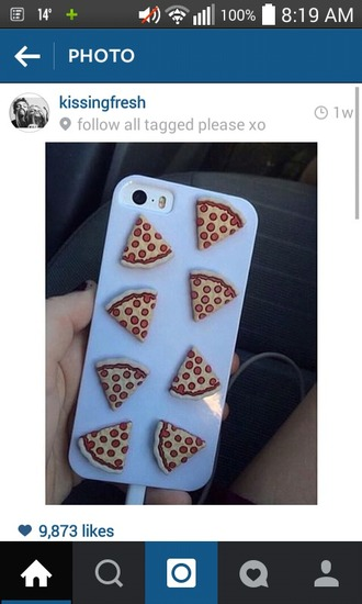 phone cover pizza iphone