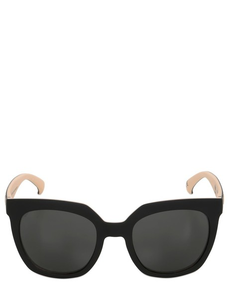 ADIDAS ORIGINALS BY ITALIA INDEPENDENT oversized sunglasses black