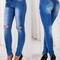 Women's ripped street styles jeans