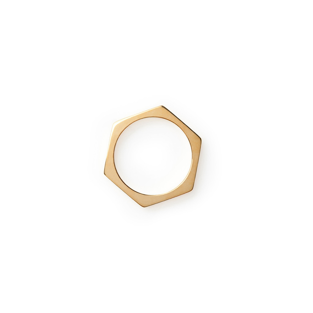 Ditched Honeycomb Ring - MIRLO