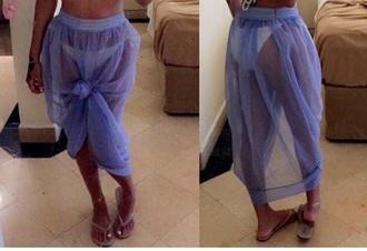 skirt beach skirt beach chiffon beach dress purple mesh skirt mesh