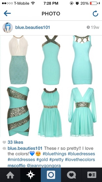 blue dress light blue teal dress