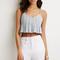 Striped cami crop top | forever 21 canada