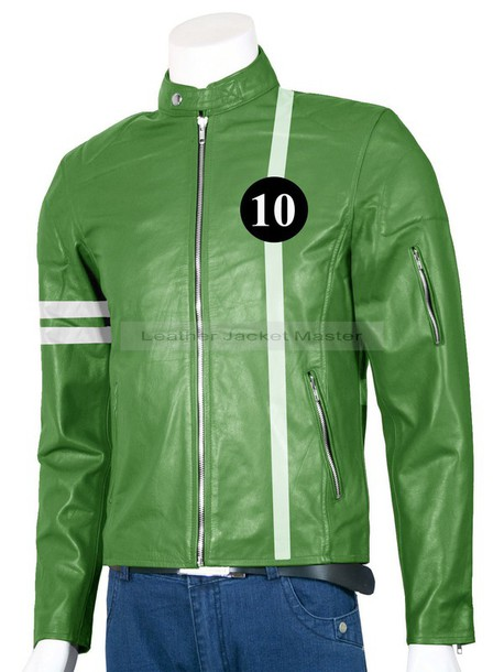 jacket leather jacket ben 10