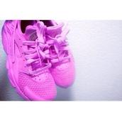 shoes,huarache,nike,purple,sneakers