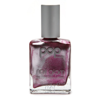 POP Beauty Nail Glam Nail Polish, No.50 Jade Metal