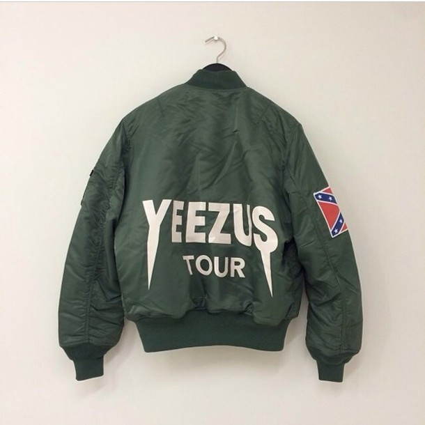 Jacket Kanye West Yeezus Green Yeezy Wheretoget