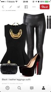 top,peplum top,peplum,black top,black,sleeveless,dressy