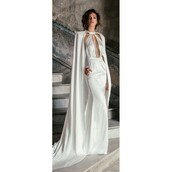 dress,gown,backless dress with beading,flare jeans,jewels,wedding dress