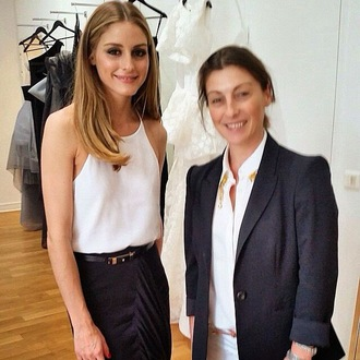 top skirt olivia palermo
