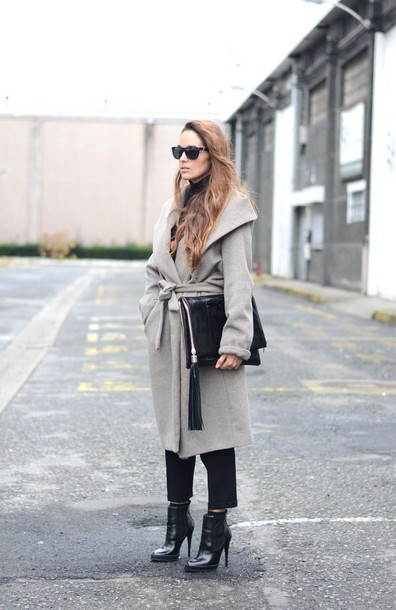 stella wants to die blogger coat pants bag shoes
