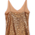 Gold V Neck Spaghetti Strap Sequined Vest - Sheinside.com