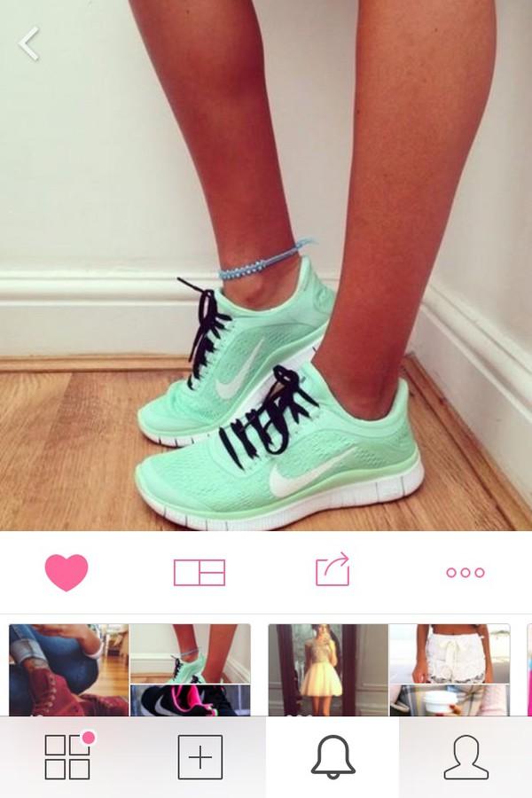 Women Nike Running Shoes Mint Nike Running Shoes Nike Nike