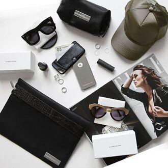 bag maniere de voir satin cap khaki cap iphone case cannes sunglasses celine