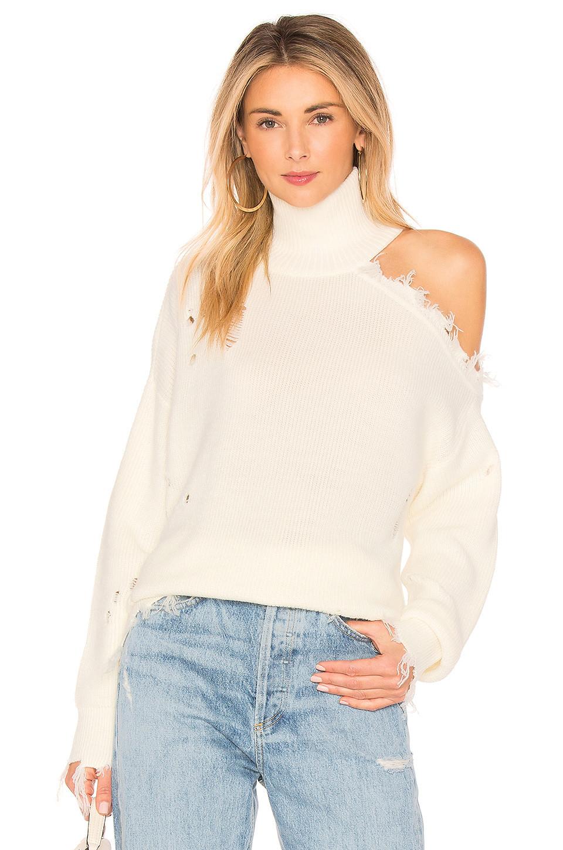 Lovers + Friends Arlington Sweater in ivory