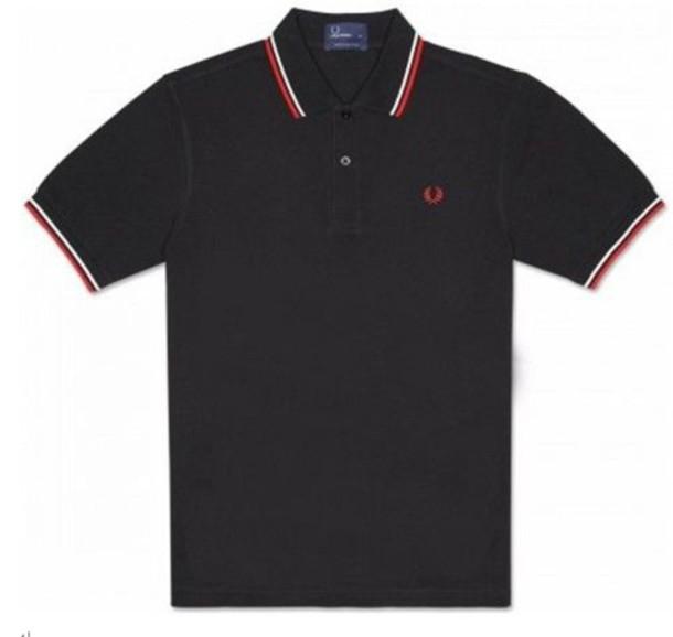 shirt fred perry polo shirt fashion black t-shirt mens polo