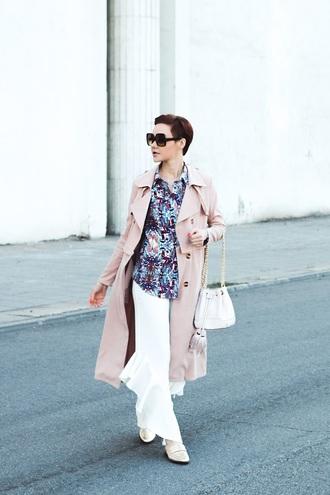 gvozdishe blogger coat shirt pants shoes bag