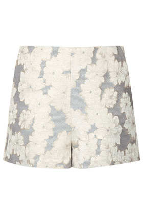 Gold Roses High Waist Shorts - Shorts  - Clothing  - Topshop