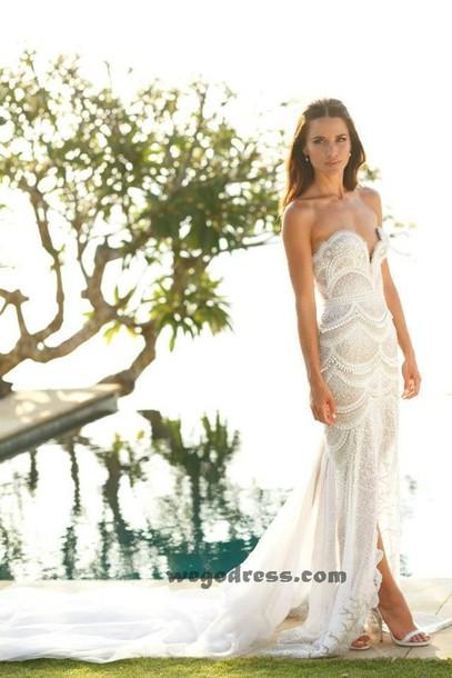 dress wedding dress prom dress ball gown dress ball gown dress white dress embellished dress strapless dress lace wedding dress hipster wedding