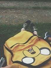 bag,adventure time,backpack