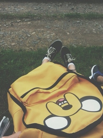 bag adventure time backpack