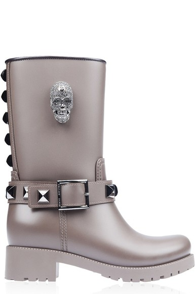 skull shoes boots philipp plein