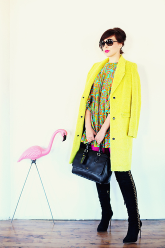 dress shoes bag sunglasses coat keiko lynn