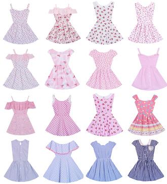 dress plaid pink cute set polka dots pastel cute dress kawaii